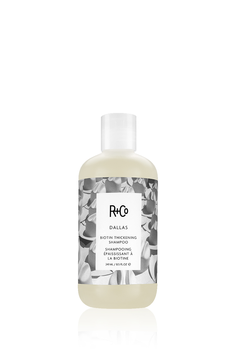 R+Co DALLAS Biotin Thickening Shampoo/ДАЛЛАС шампунь с биотином для объема 241 мл