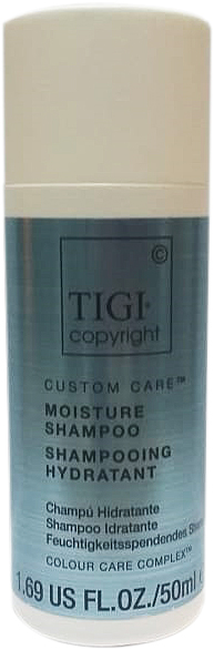 Увлажняющий Шампунь Tigi Copyright Custom Care Moisture Shampoo 50Мл