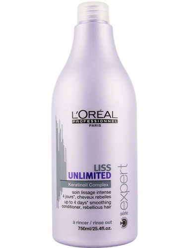 Loreal Liss Ultime | Unlimited Анлимитид Смыв. Уход, 750 Мл