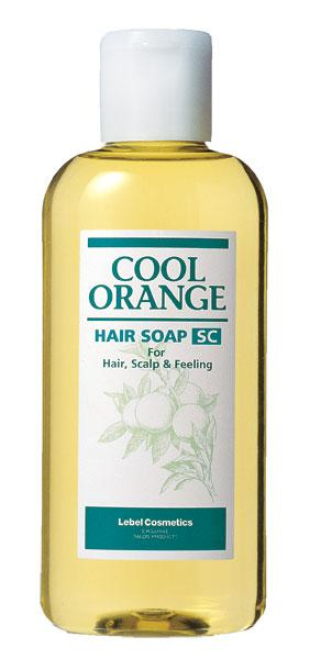 LEBEL COOL ORANGE HAIR SOAP SUPER COOL Шампунь для волос 200 мл