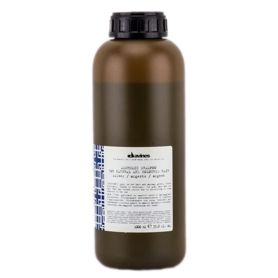 Davines Alchemic Shampoo For Natural And Coloured Hair Шампунь Алхимик (Серебро) 1000 Мл