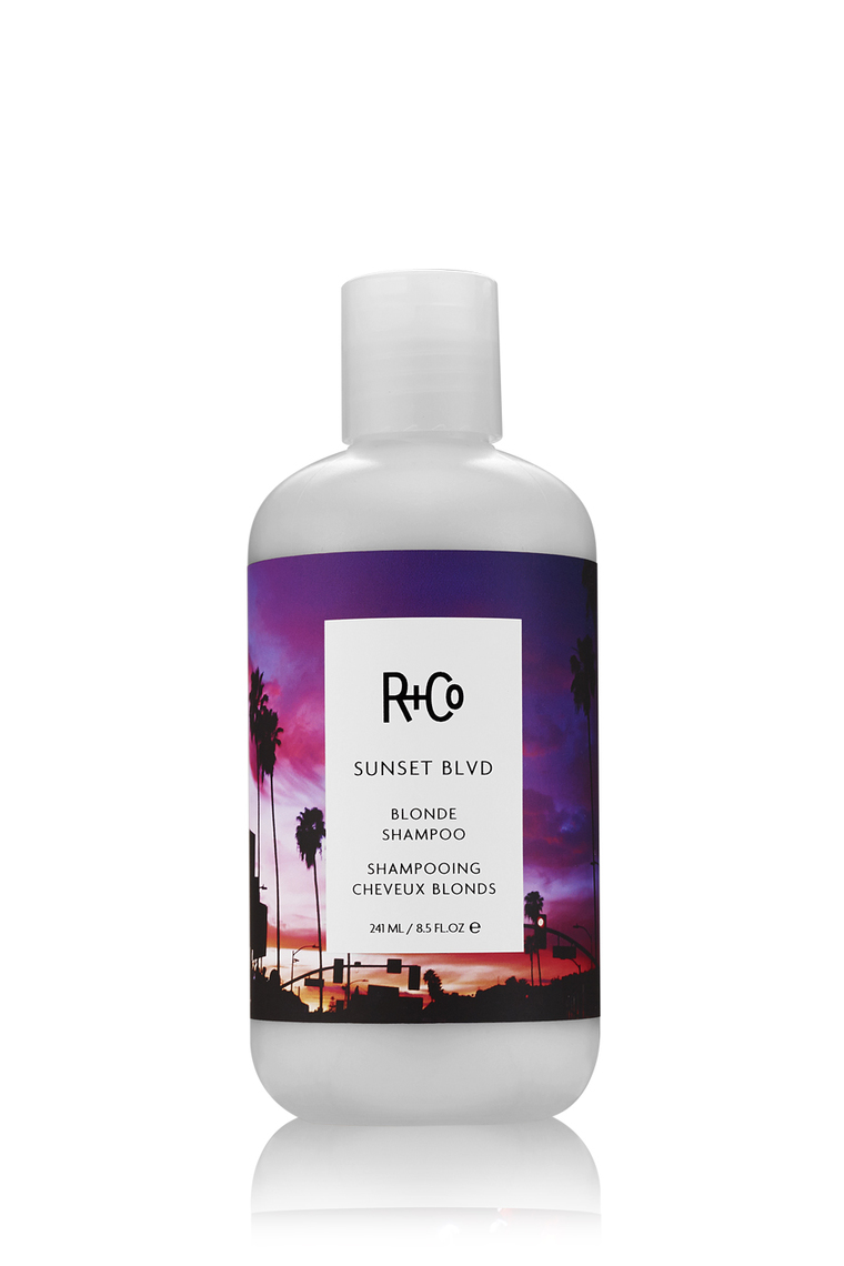 R+Co SUNSET BLVD Blonde Shampoo/САНСЕТ БУЛЬВАР Шампунь для светлых волос 241 мл