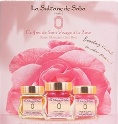 La Sultane de Saba Rose Face Care Set Набор для лица Face Care Set Маска+Крем+Бальзам 3х50мл